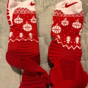 Nike Elite Christmas Basketball Socks